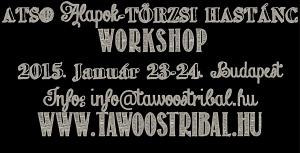 januári kezdő törzsi hastánc workshop